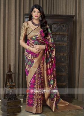 Banarasi Silk Woven Saree