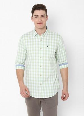 Allen Solly Green Shirt