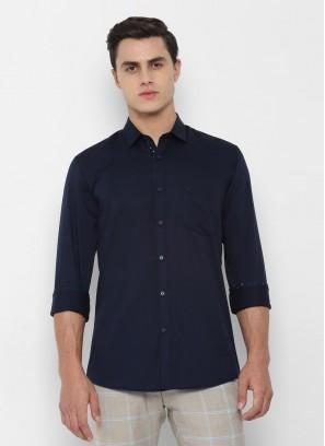 Allen Solly Navy Shirt