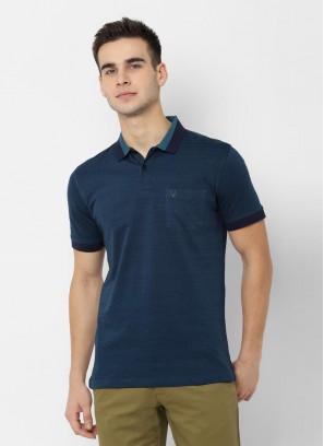 Allen Solly Navy T Shirt