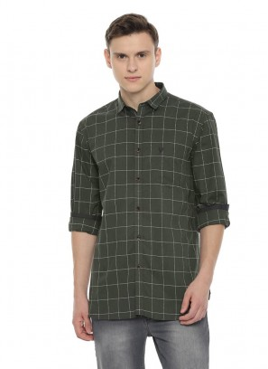 Allen Solly Olive Shirt