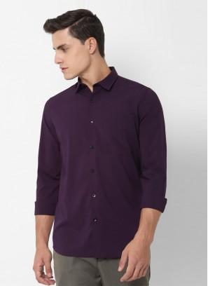 Allen Solly Purple Shirt