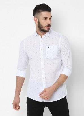 Allen Solly White Shirt