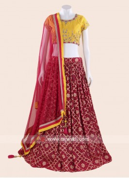 Wedding Designer Choli Suit with Dupatta