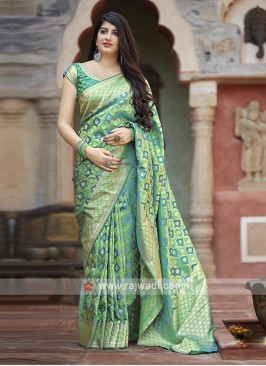 Amazing Banarasi Satin Saree