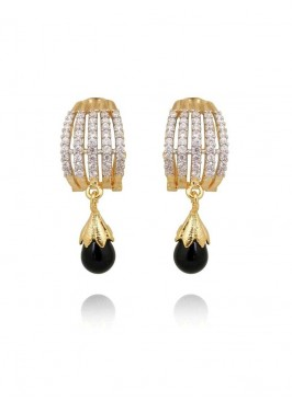 Amazing designer Black Drop Earrings