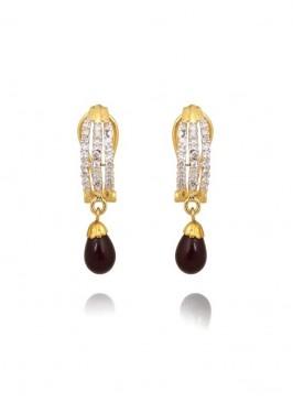 Amazing designer Brown Drop Earrings
