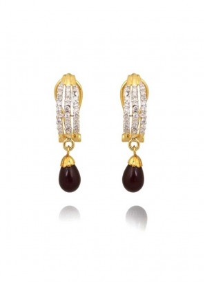 Amazing designer Brown Drop Earrings