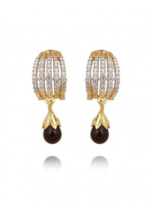 Amazing designer Golden Drop Earrings