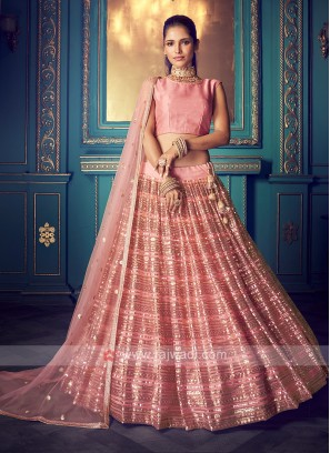 Amazing Lehenga Choli In Pink