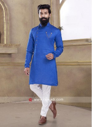 Amazing Party wear Linen Pathani Suit