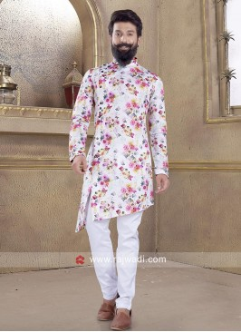 Amazing Multicolor Pathani Suit