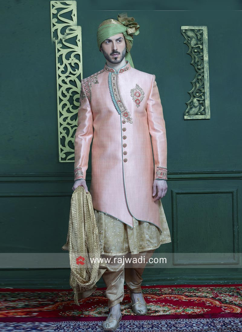 Anarkali Style Art Silk Indo Western