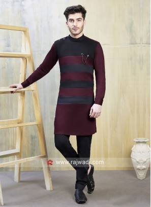 Designer Satin Fabric indo Western