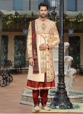 Anarkali Style Indo Western Sherwani