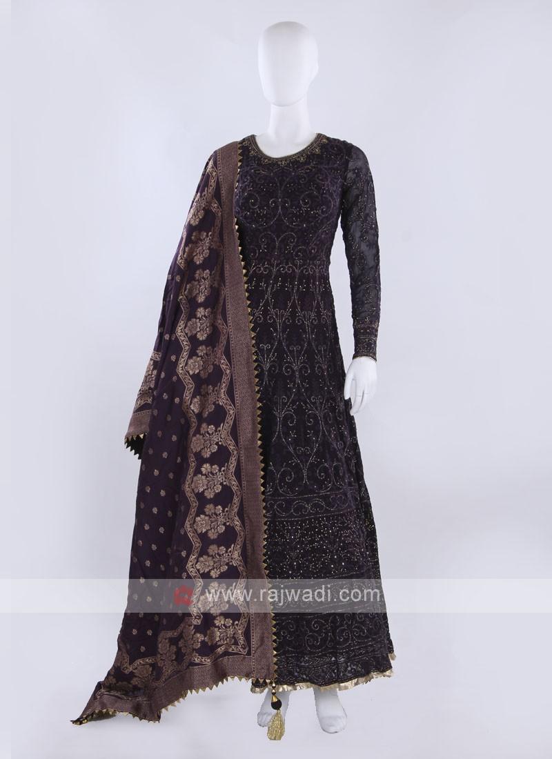 Anarkali Suit with dupatta