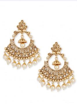 Stone Work Festive Chandbali Earrings