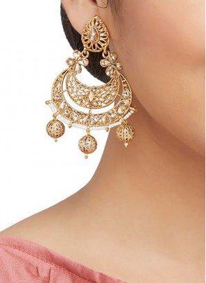 Antique Work Traditional Earrings Set