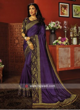 Ar Silk Wedding Saree with Blouse