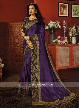 Ar Silk Wedding Saree with Blouse