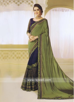Art Silk and Jacquard Silk Half Saree