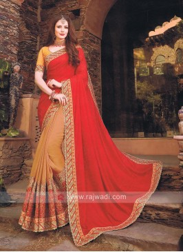 Art Silk and Jacquard Silk Saree