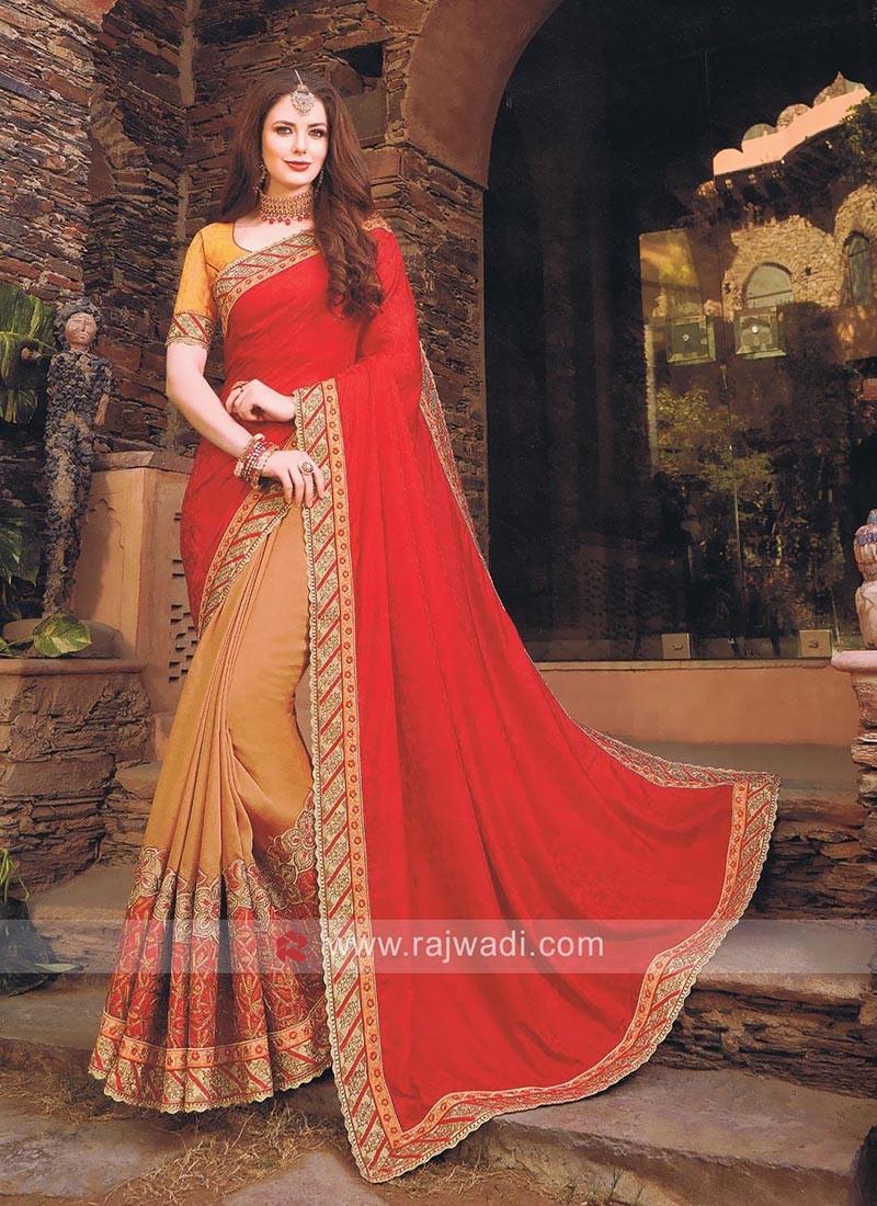 Art Silk and Jacquard Silk Saree