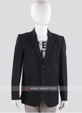 Art Silk Blazer For Boys