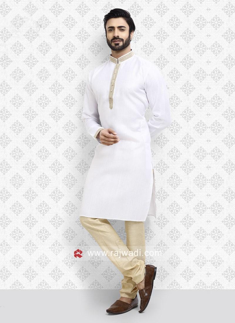 Art Silk Casual Kurta Pajama