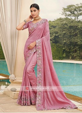 Art Silk Cutwork Saree