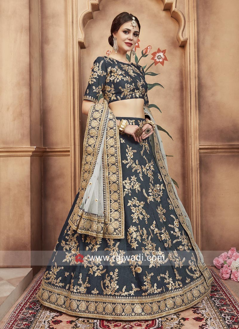 Art Silk Designer Lehenga Choli with Dupatta