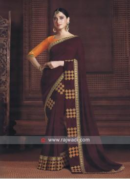 Art Silk Designer Tamannaah Bhatia Saree
