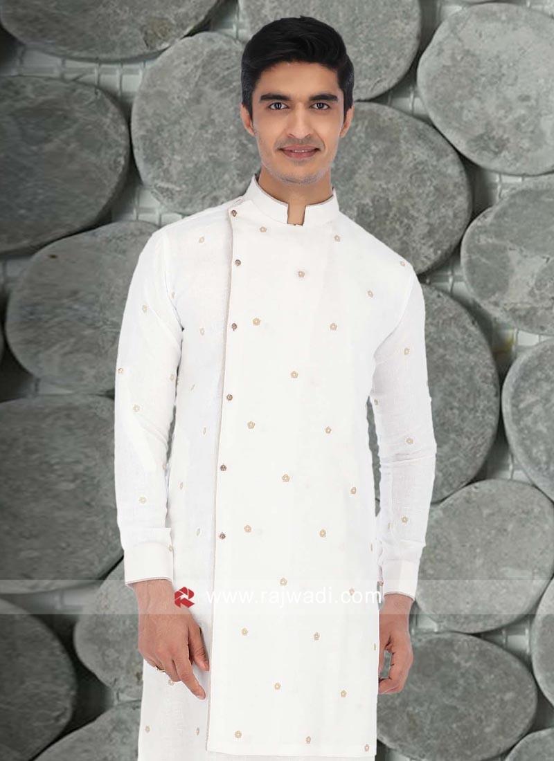 Beautiful White Color Kurta