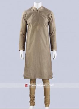 Art Silk Fabric Kurta Pajama