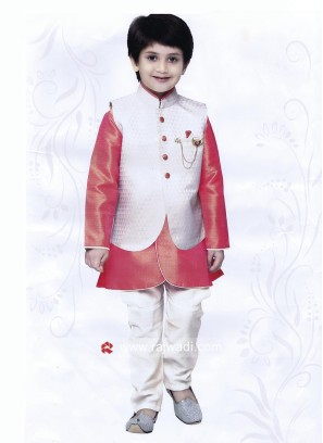 Art Silk Fabric Nehru Jacket For Party