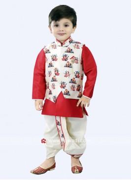 Art Silk Fabric Nehru Jacket For Party