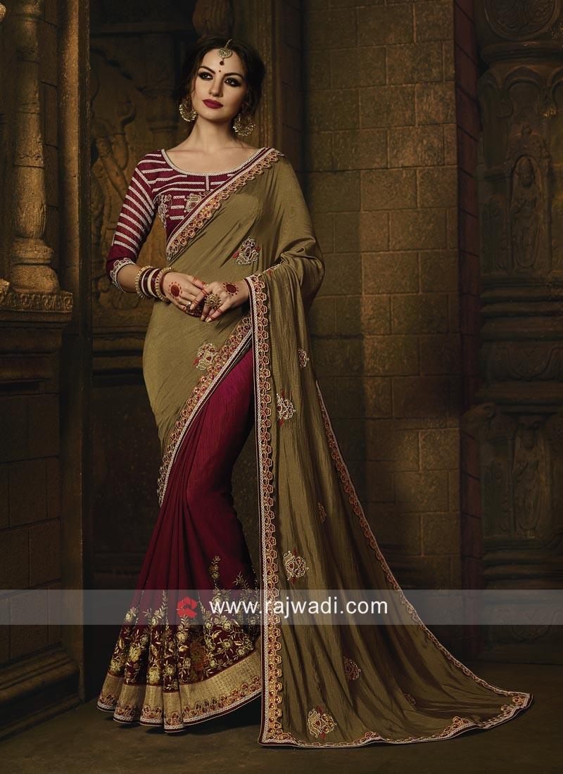 Art Silk Fabric Saree