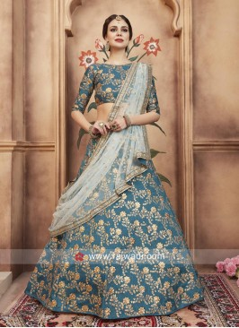 Art Silk Heavy Embroidered Lehenga Choli