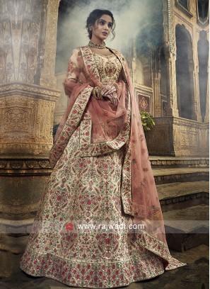 Art Silk Heavy Embroidery Lehenga Choli