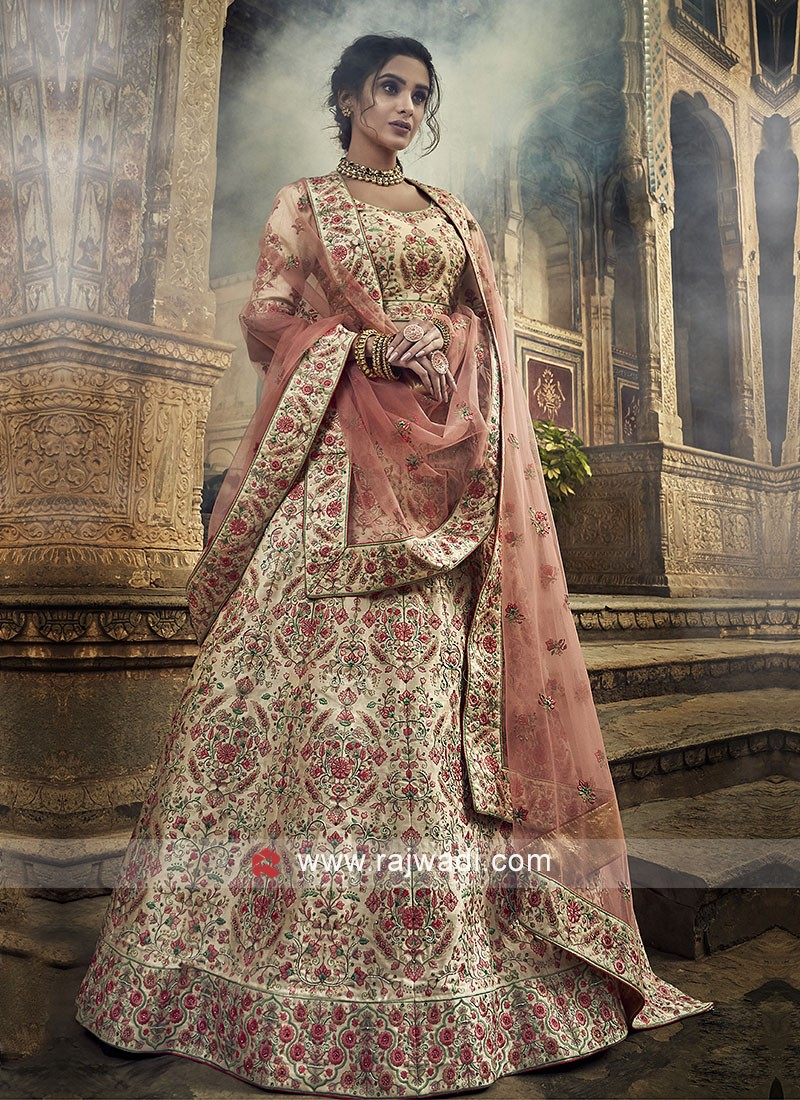 Art Silk Heavy Embroidery Lehenga Choli