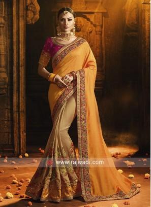 Art Silk Heavy Work Saree