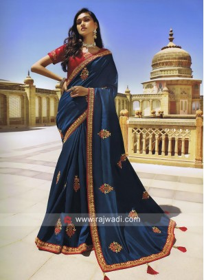 Art Silk Heavy Work Saree