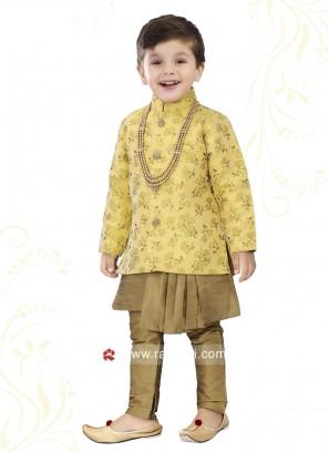 Art Silk Indo Western For Boys