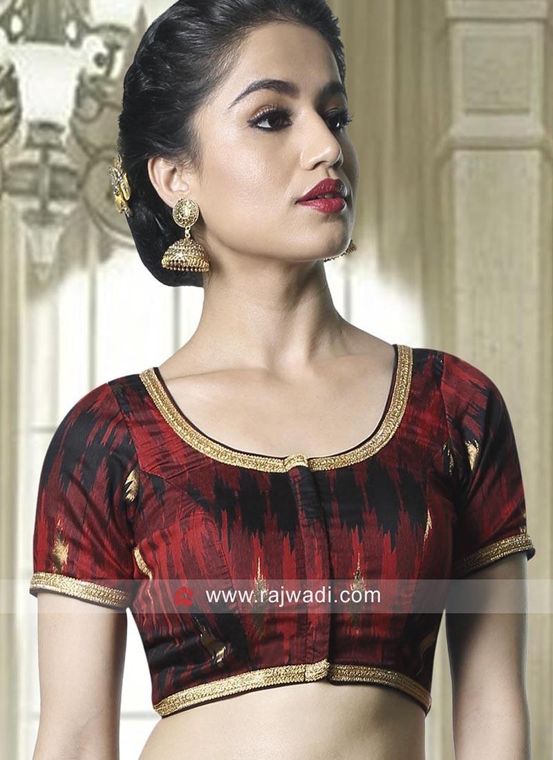 Art Silk Lace Work Blouse