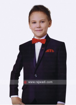 Art Silk Party Wear Suit For Kids