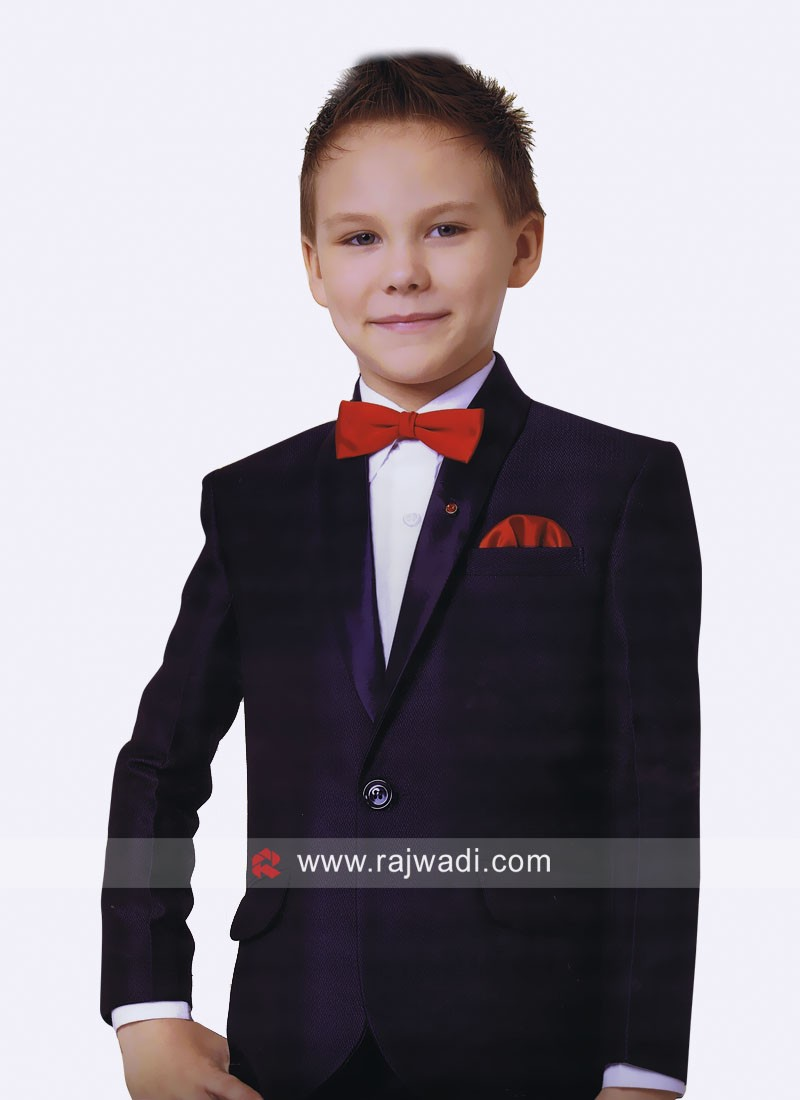 Art Silk Party Wear Suit For Kids