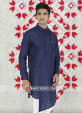 Blue Color Kurta  For Mens