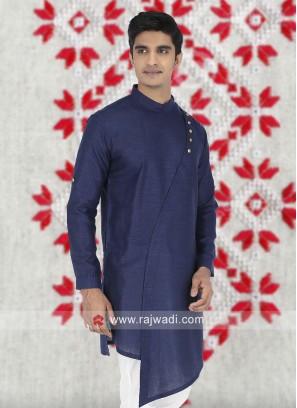 Blue Color Kurta  For Mens