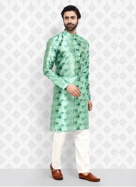 Art Silk Printed Kurta Pajama