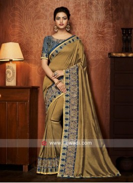 Art Silk Saree with Blouse